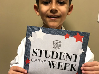 Student of the Week - Mariano Fam