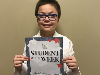 Student of the Week - Adrian Wente