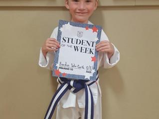 Student of the Week - Brendan Seda-Smith