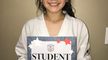 Student of the Week - Ariana Ramirez