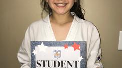 Student of the Week - Ariana Ramirez