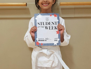 Student of the Week - Hussaina Asghar