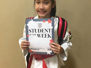Student of the Week - Rachel Phan