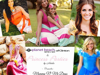 Mommy N' Me Princess Parties at Planet Beach!