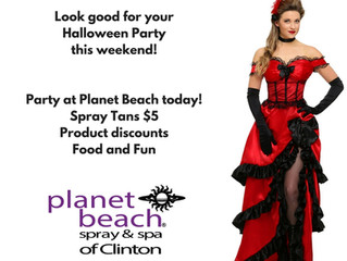 Party today at Planet Beach!