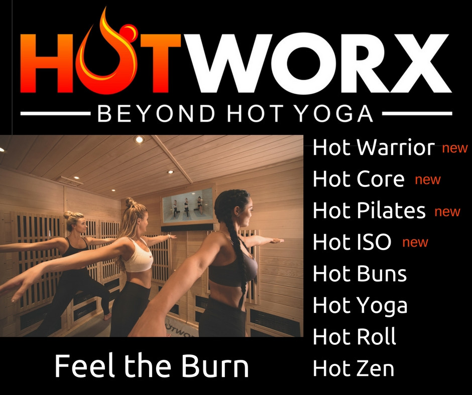 Now you can get your burn on with HotWarrior, HotCore, HotPilates, and Hot ISO.