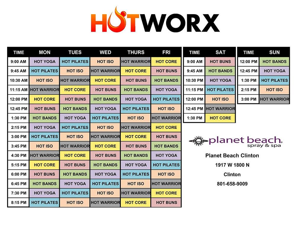 New Hot Worx programs starting Jan 20, 2019