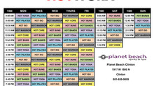 New Hot Worx Programs and Schedule