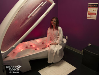Ichthyosis Red Light Treatment at Planet Beach Clinton