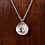 Thumbnail: Frosted rose necklace