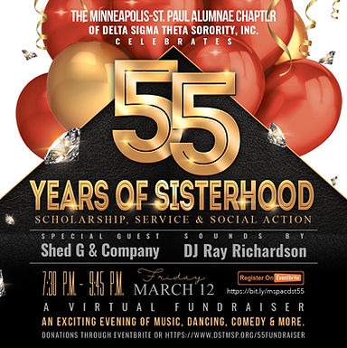 Chapter 55th Anniversary Fundraiser