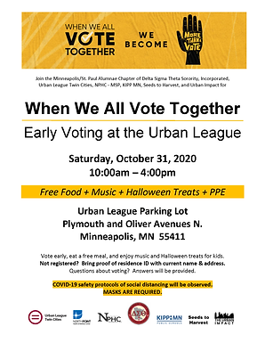 Early Voting at the Urban League