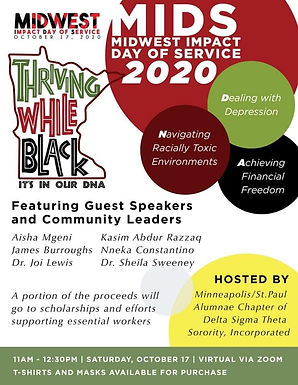 Midwest Impact Day of Service: Thriving While Black