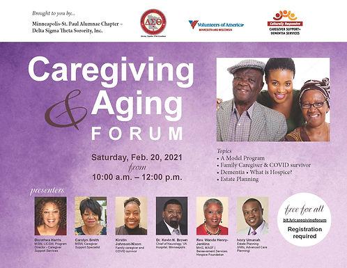 Caregiving & Aging Forum