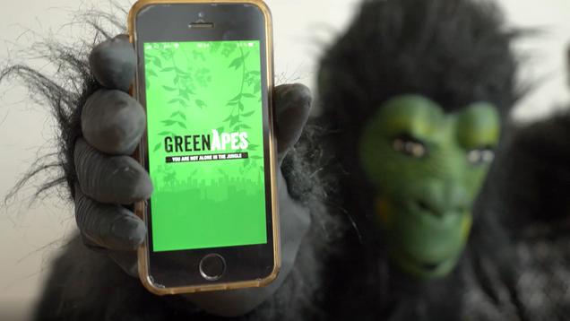 GreenApes mit GreenCity e.V.