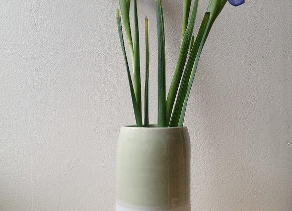 Celadon Cylnder Vase