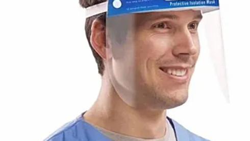 10-Plastic Face Shield