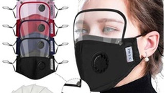Face Shield Mask & Breather