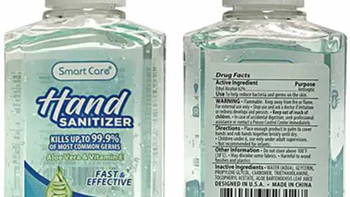 192Case-Smart Care Hand Sanitizer 2 oz.