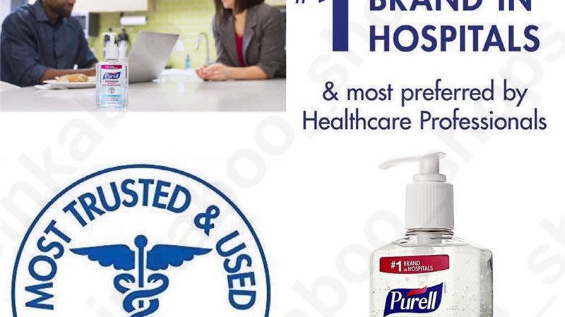 Purell  Hand Sanitizer QTY-4 units