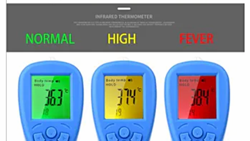 5 units-Infrared Thermometer