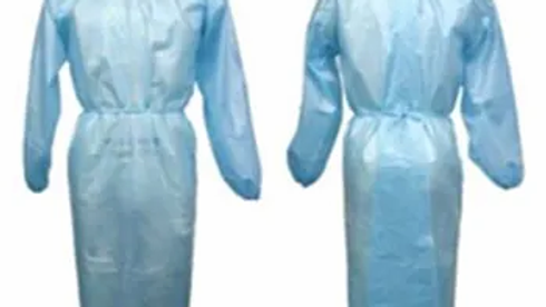 100-Level 2 Disposeable Isolation Gowns
