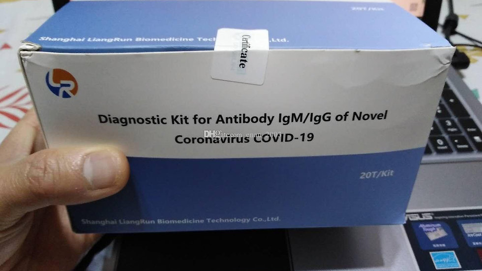 Nucleic Acid Detection Diagnostic Kit For Antibody IgM/IgG to COV-19