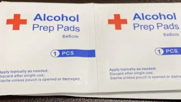 100 units per box-Alcohol Prep Pads 100 boxes