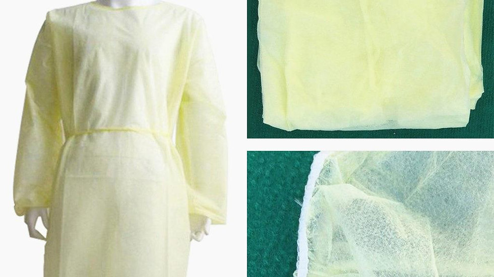Isolation Gown Water Proof-bulk 50 pieces
