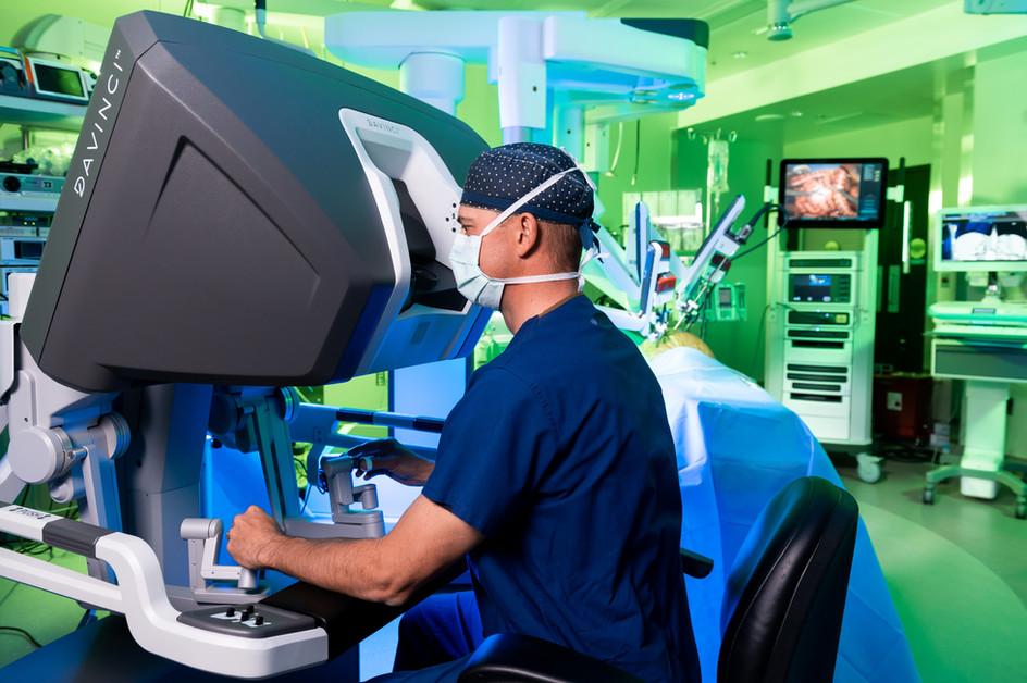 Vail Health Davinci Robot
