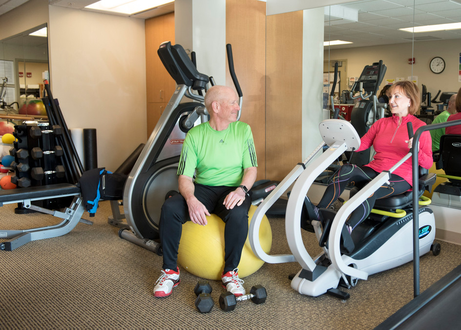 Shaw Cancer Center Rehab Shoot