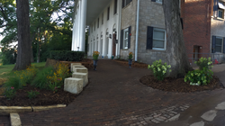 After - Walkway up to House