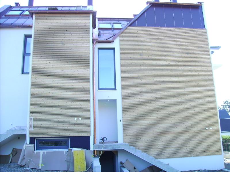 Lärchenholz - Fassade