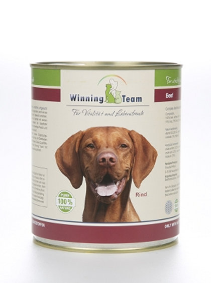 """Winning Team"" Hund, Rind, 800gr"
