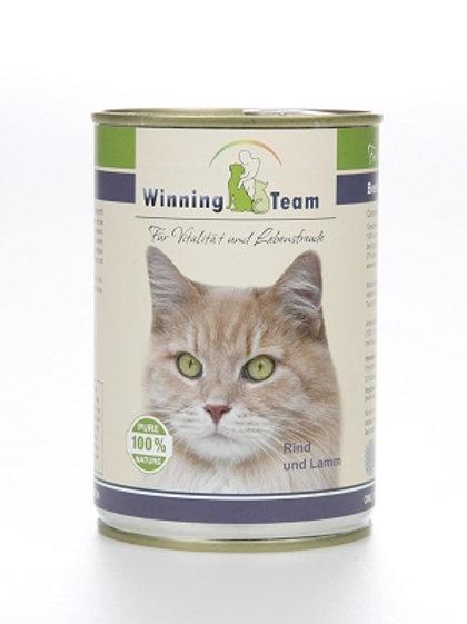 """""""Winning Team"""" Katze, Rind und Lamm, 400g"""
