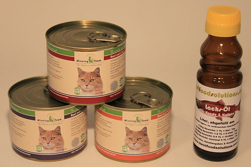 Probe-Package klein für Katzen (TEST-AKTION)
