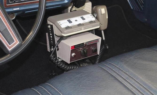 1978 LTD GE low band radio