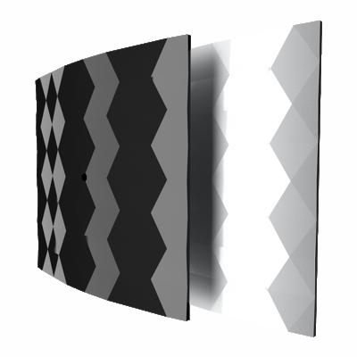 Бытовой вентилятор Dospel Black&White