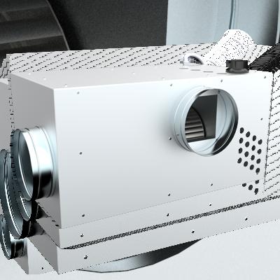 Каминный вентилятор Dospel KOM III BY PASS