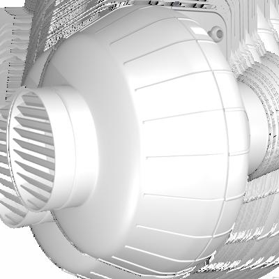 Купить канальный вентилятор Dospel EURO 0 150/160