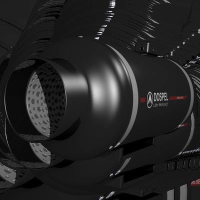 Канальный вентилятор Dospel Turbo Silent 100 / 160 / 200