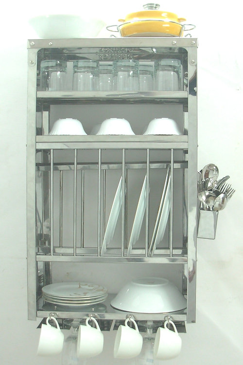 Plate Rack, Dish Drying Rack, Kitchen Rack, Wall Shelves & Shelf ...