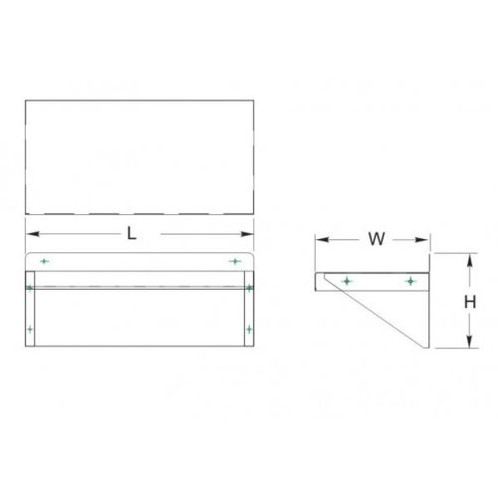 14x72 wall shelf commercial kitchen s s wall shelf 14x72 stainless steel overall size 14w x 72l x 10 78h 2 upturnbackplash all 16 18 gauge stainless steel polished finish die formed ccuart Images
