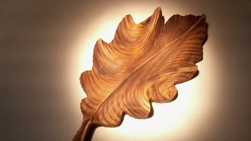 Лист дубовый малый 140мм*70мм