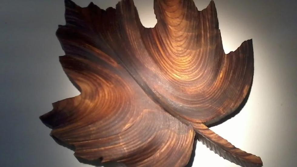 Лист кленовый 190мм*150мм