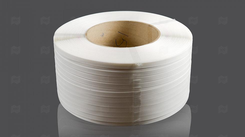 Стреппинг-лента 15*1,0*1200м для ручной и полуавтоматической обвязки, Белая
