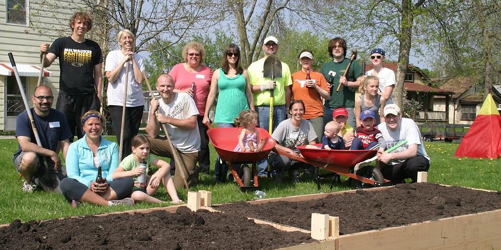 Third Thursday at the Community Garden