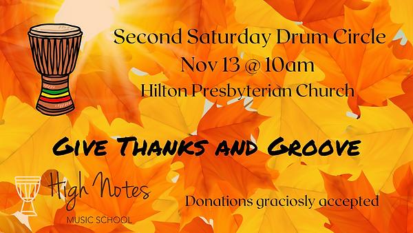 Second Saturday Drum Circle Nov .png