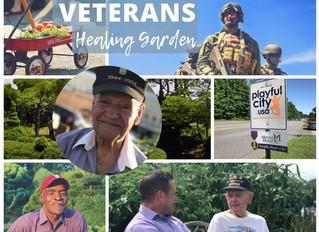 Help us win $25k for a Veterans Healing Garden!