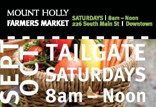 Tailgate Market Sept. & Oct.